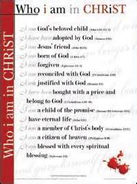 Who i am in christ list free who i am in christ echart rose