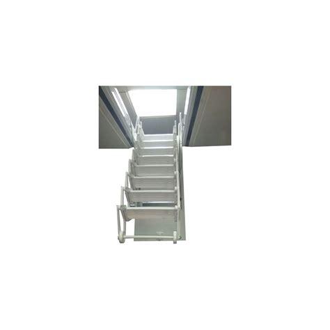 escaleras techo escalera techo acorde 243 n acero l 225 cada blanca
