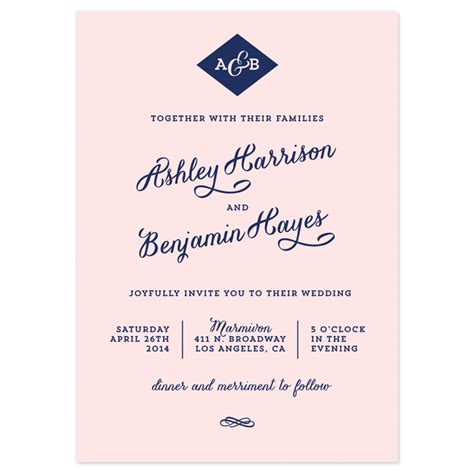 modern wedding invitations templates 6 best images of modern wedding invitation wording