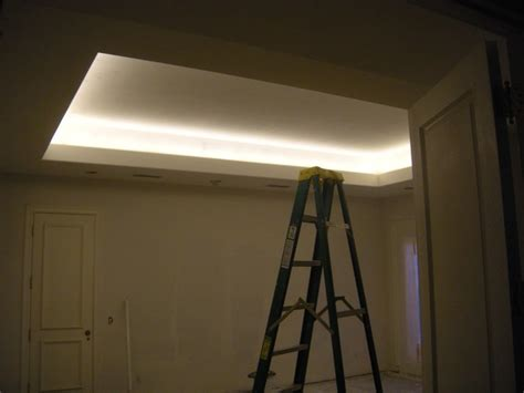rancho santa fe home remodel with coved ceiling led