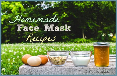 diy mask recipe mask bases add ins and several recipes