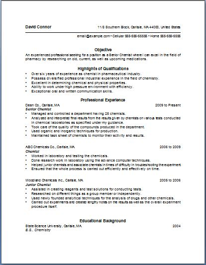Sle Cover Letter Bullet Points bullet point resume template of the most important