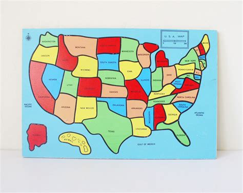map usa puzzles free reserved united states puzzle map by kitschcafe
