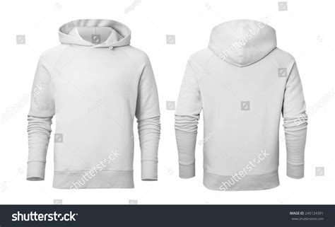 Levae Hodie White hoodie front and back template www imgkid the