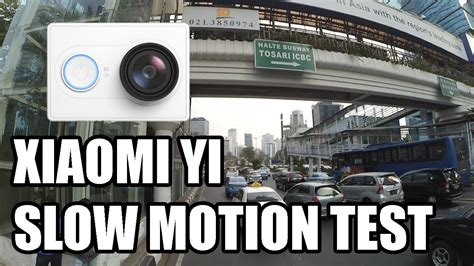 membuat video slow motion xiaomi yi xiaomi yi slow motion test 1080p 60fps converted to