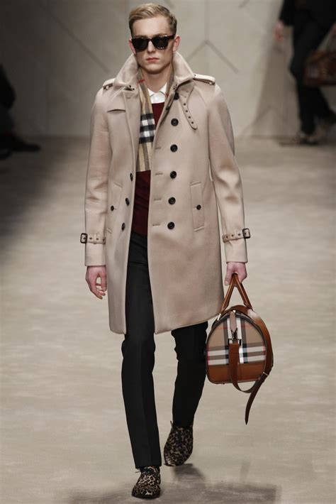 Burbery Fashion burberry prorsum menswear fall winter 2013 ready to wear