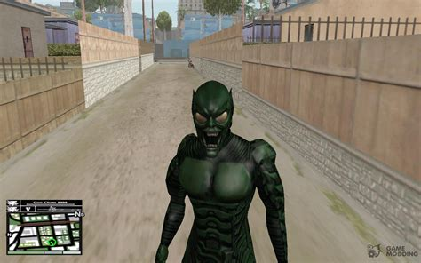 green goblin skin  gta san andreas