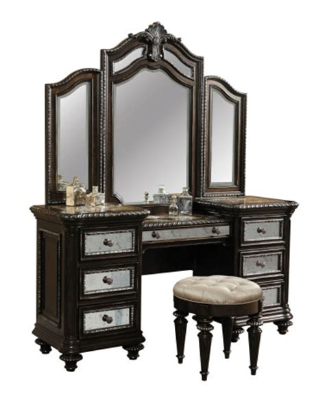 pulaski furniture reflexions vanity set with mirror keep
