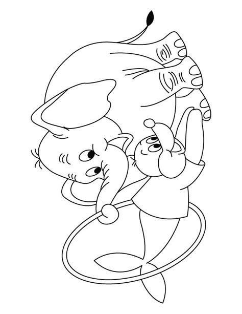 Free Coloring Pages Of Elmer Elephant Elmer Elephant Coloring Page