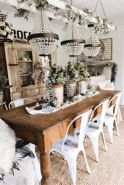 rustic glam home decor rustic glam farmhouse dining room