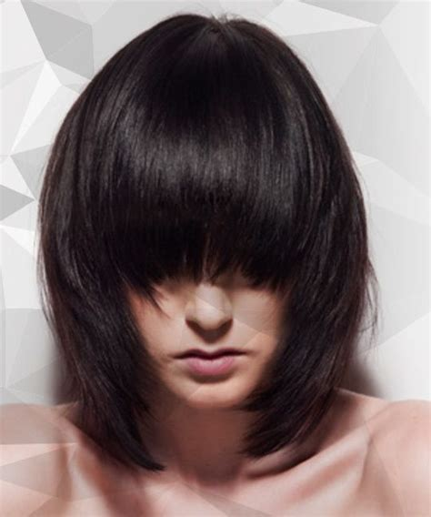 how to style graduated bob 33 best one length images on pinterest hairstyles make
