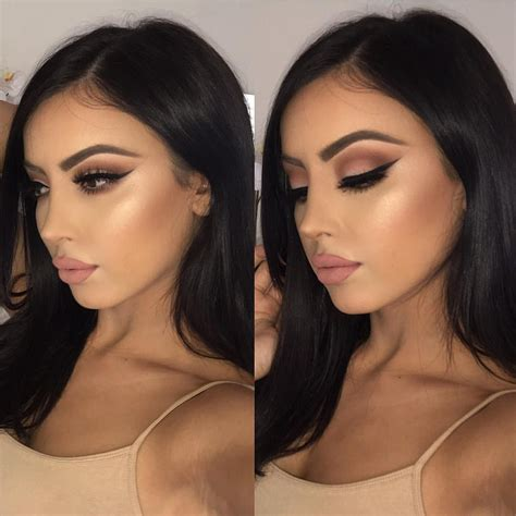 makeup baddie iphone come through tutorial for this instagram