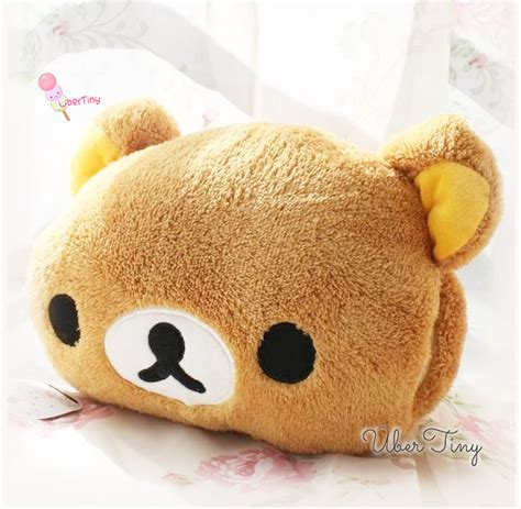 Snugglers Pillow by Rilakkuma Plush Pillow Snugglers 183 Uber Tiny 183