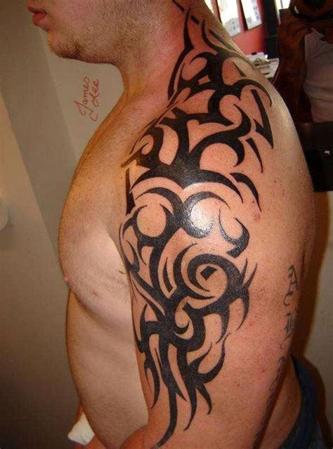 tribal tattoos on shoulder and arm 52 most eye catching tribal tattoos