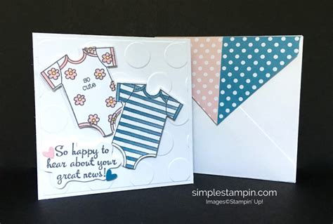 baby sts for card clean and simple stin up baby card archives simple