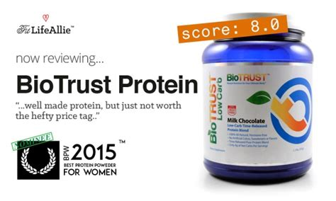 protein not biotrust protein review well made but not worth it