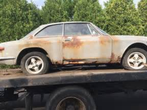 Alfa Romeo Restoration Parts 1972 Alfa Romeo Gtv Series 105 For Heavy Restoration Or