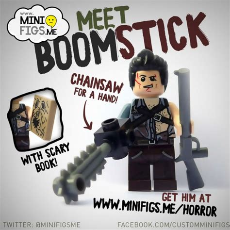 boomstick books boomstick lego minifigure by minifigs zombies