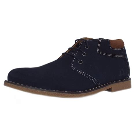 desert shoes chatham marine tor s desert boots in navy suede mozimo