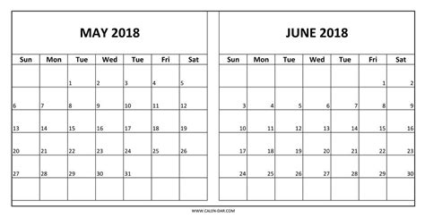 2018 Calendar Same As May And June 2018 Calendar Printable Yspages