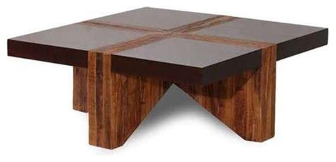 Tsavo Coffee Table Sleeper Wood Furniture Decoration Access