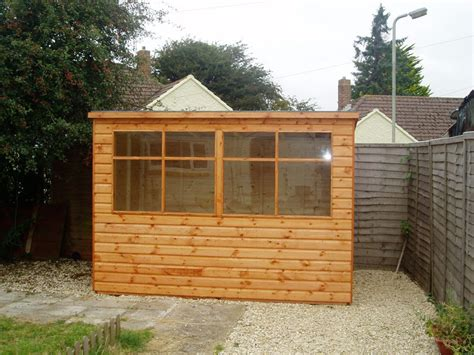 Pent Garden Shed by Pent Garden Sheds Town And Country Timber Products