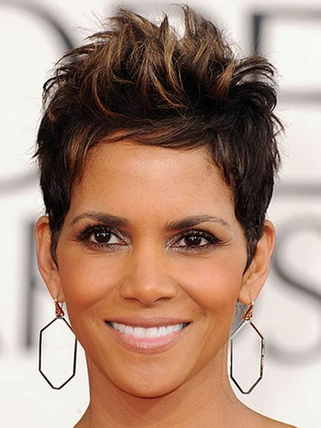 back view of halle berry hair halle berry hairstyles