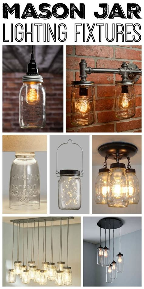 jar kitchen lights best 25 jar lighting ideas that you will like on