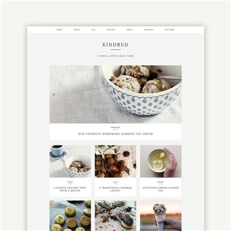themes in the book kindred kindred wordpress theme station seven wordpress themes