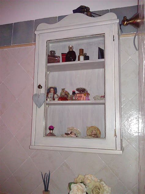 bagni in stile shabby chic scaffale porta oggetti da bagno in stile shabby il