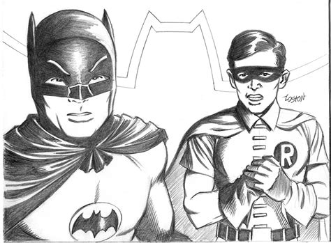 classic batman coloring pages the real batman and robin by lostonwallace on deviantart