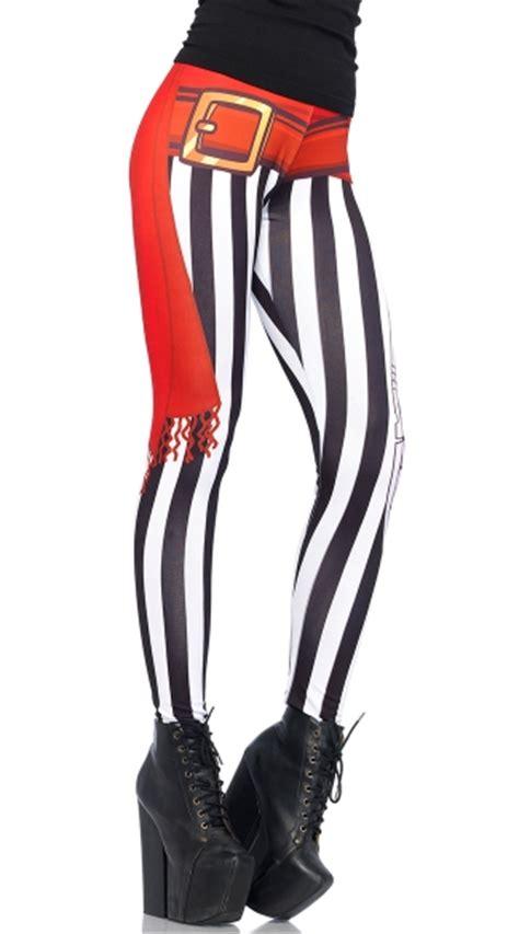 pattern black swashbuckler s shirt swashbuckler leggings pirate leggings halloween leggings