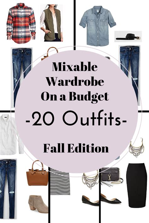 New Wardrobe On A Budget by Create A Capsule Wardrobe On A Budget 10