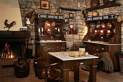 arredamento da taverna cucine country e rustiche in muratura arredo taverna e cucina