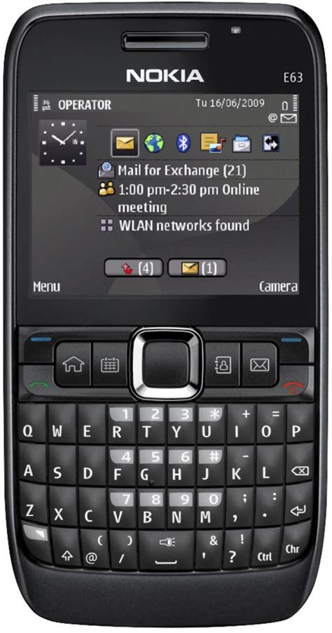 Hp Nokia Type E63 nokia e63 at best price with great offers only on