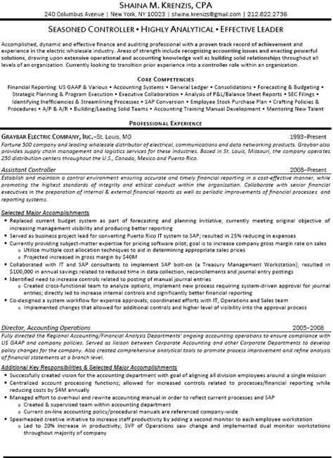 financial controller resume pdf 28 images 24
