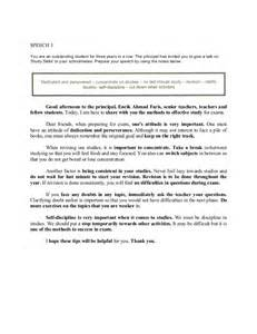 Exle Of A Speech Essay by Essay Exles Pt3 Worksheet Printables Site