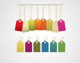 colored tags significance of colored price tags tags and labels