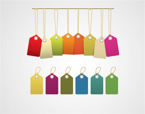 colored tags colored price tags tags and labels expert