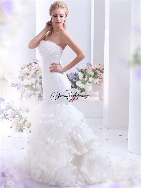Robe Tulle Mariage - robe de mariee tulle et frou frou mariage