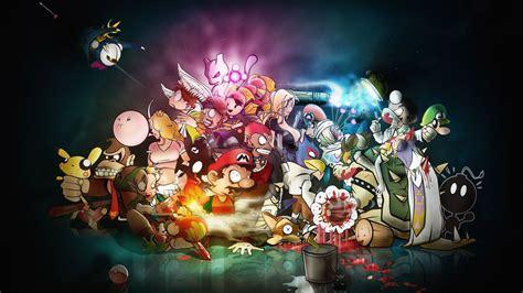wallpaper cartoon videogames 2560x1440 gaming wallpapers wallpapersafari