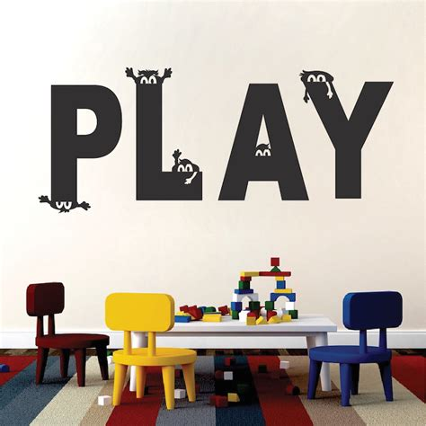 playroom wall stickers play room vinyl wall decal sticker from trendy wall designs