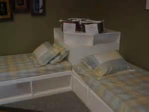 Perpendicular Bunk Beds Built In Twin Beds Perpendicular Twins By Chris Davis