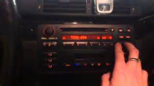 bmw e46 original business cd radio with mp3 support