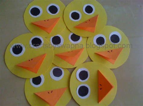 Duck Paper Craft - my craft ideas mini paper duck