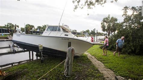 damaged boats for sale florida hurricane hermine takes aim at florida cnn