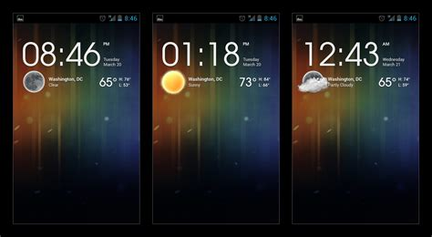 weather clock widget android android weather clock widget concept by krazy3 on deviantart