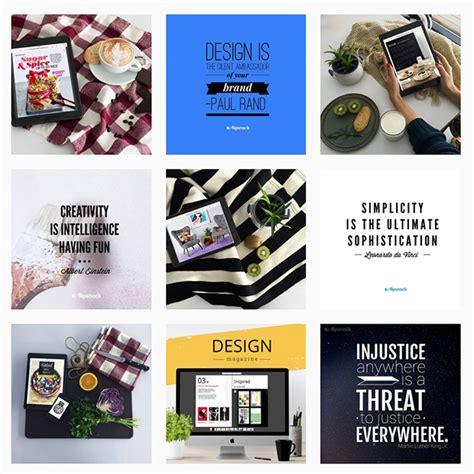 instagram design tips follow us on instagram flipsnack
