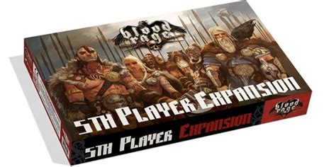 Blood Rage Card Template Site Boardgamegeek by Blood Rage 5th Player Expansion Geekstop