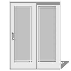 Sliding Patio Door Dimensions Sliding Patio Doors 3d Model Formfonts 3d Models Amp Textures